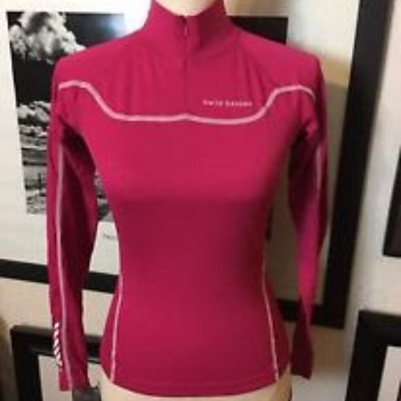 ccc849043b784e Helly Hansen Tops | Zip Stay Dry Tech Shirt Hot Pink Xs | Poshmark